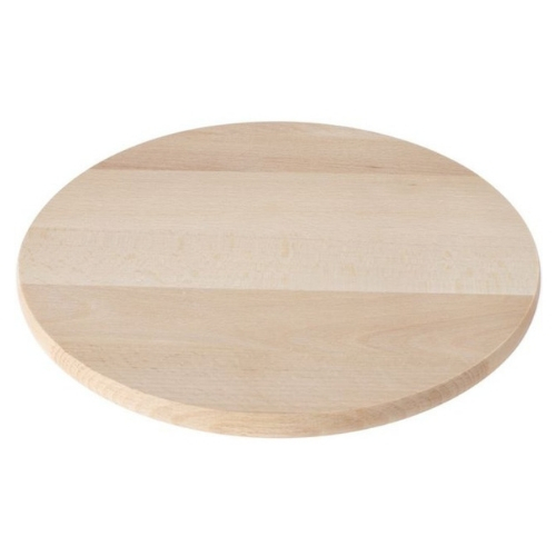 Houten roterende kaasplank