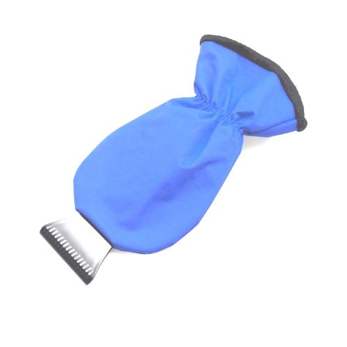 Ijskrabber auto blauw