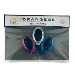 Orange85 Borstel met spiegel 3 stuks