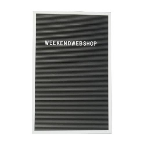 Letterboard Zwart