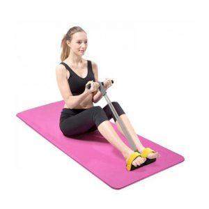 Fitness elastiek met voetsteunen