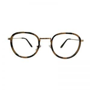 Bril zonder sterkte cat-eye bruin