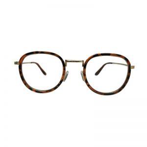 Bril zonder sterkte cat-eye tijger