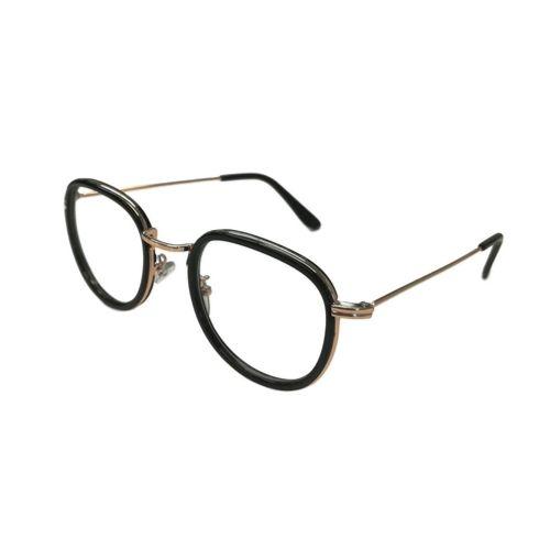 Bril zonder sterkte cat-eye zwart