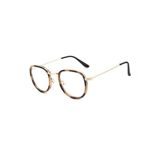 Bril zonder sterkte cat-eye bruin (1)