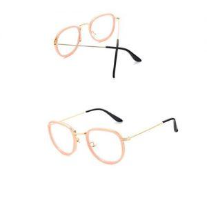 Bril zonder sterkte cat-eye bruin (2)