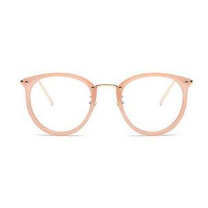 Bril zonder sterkte roze