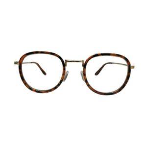 Orange85 bril zonder sterkte tijger rond
