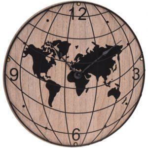 Wandklok landelijk wereld