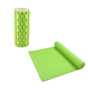 Yoga mat en foam roller