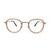 bril zonder sterkte cat eye roze orange85