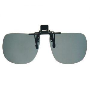 Clip on zonnebril zwart