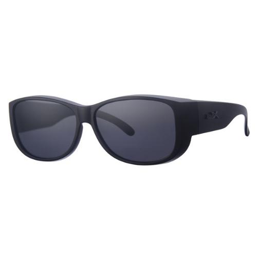 Overzetzonnebril luxe zwart