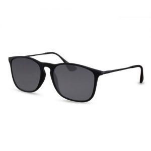 Zonnebril zwart mat