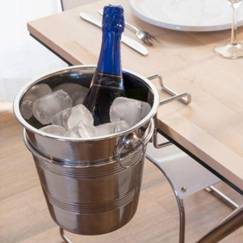 Wijn of champagne koeler + houder