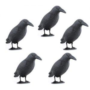 Vogelverschrikker kraai 5 stuks