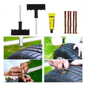 Reparatie set voor autobanden