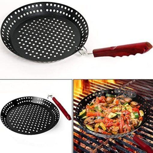 Barbecue pan sfeerbeeld