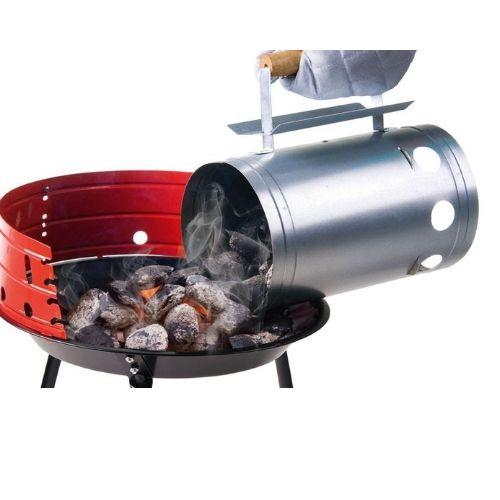 Bbq Aansteken Met Starter.Barbecue Starter