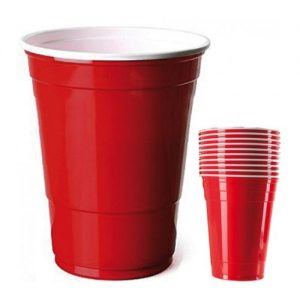 Red cups XXL