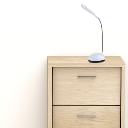 Orange85 Bureaulamp LED verlichting op batterijen wit