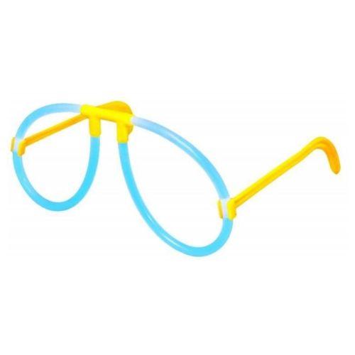 Lichtgevende bril feest 4 stuks