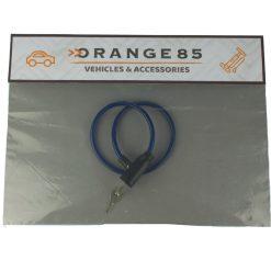 Orange85 Kabelslot met sleutel fiets