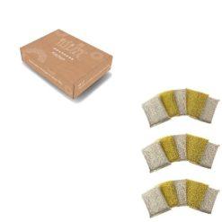 Orange85 Schuurspons zilver afwassen 15 stuks