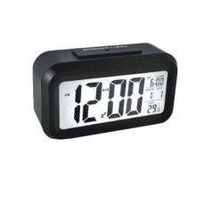 Orange85 Wekker zwart digitaal met alarm