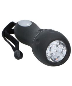 Zaklamp LED zwart