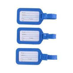Bagage labels 3 stuks