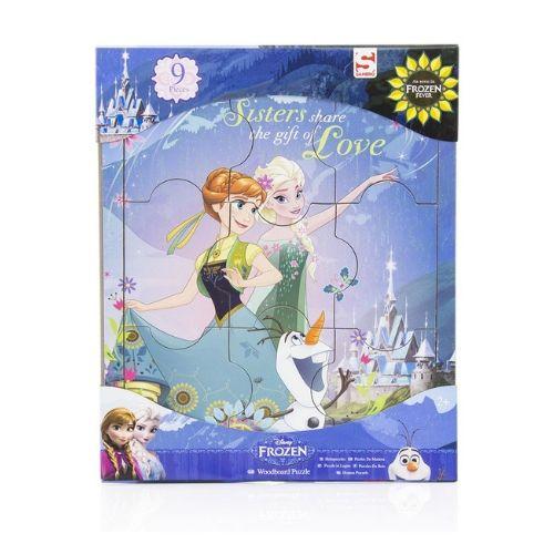 Houten puzzel Frozen