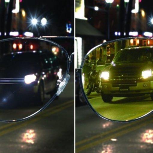 Nachtzichtbril piloot zicht