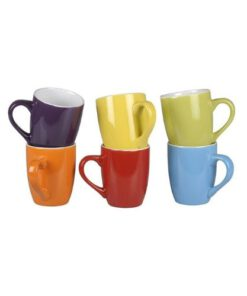 Koffiekopjes gekleurd 300ml
