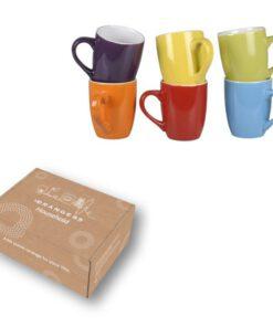 Orange85 Koffiekopjes gekleurd 300ml