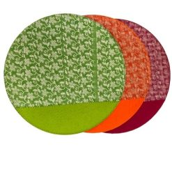 Orange85 Placemats rond 3 stuks