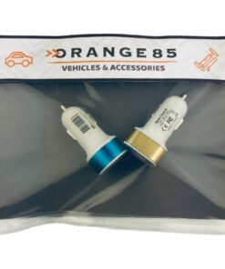 Orange85 USB oplader auto 2 stuks