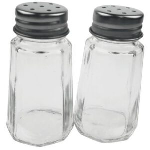 Alpina peper en zout setje glas