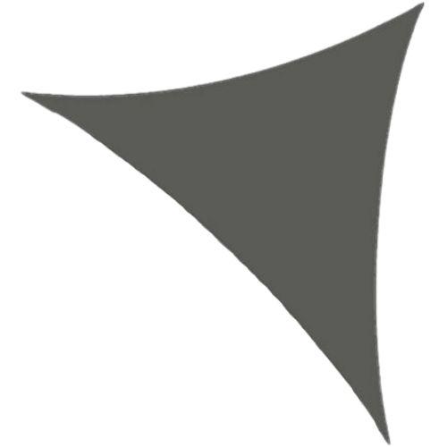Orange85 Schaduwdoek Driehoek 3,6 meter Zwart