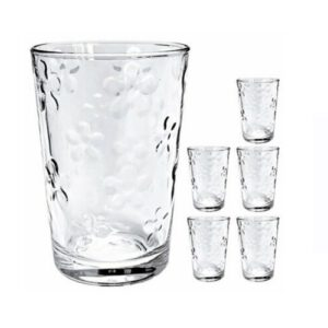 Orange85 drinkglas 6 stuks uit verpakking