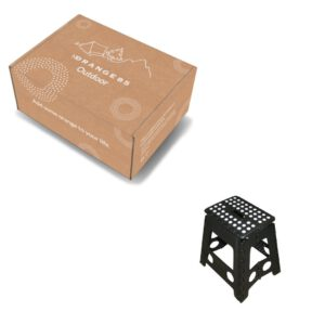 opvouwbare kruk + doos