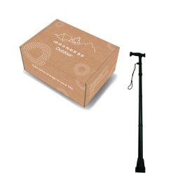 opvouwbare wandelstok hoofd + doos