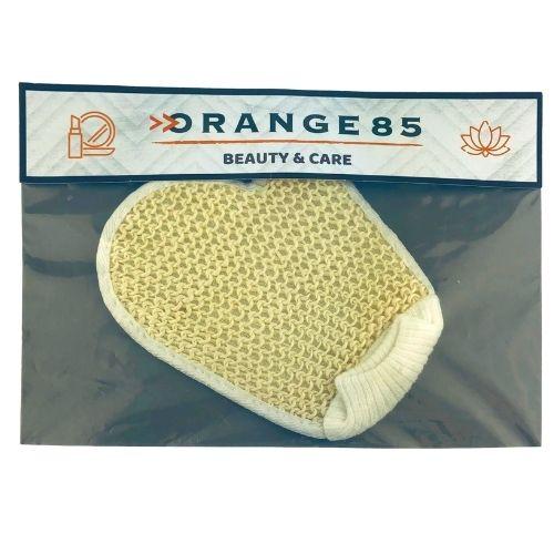 Orange85 Dubbelzijdige scrubhandschoen Beige