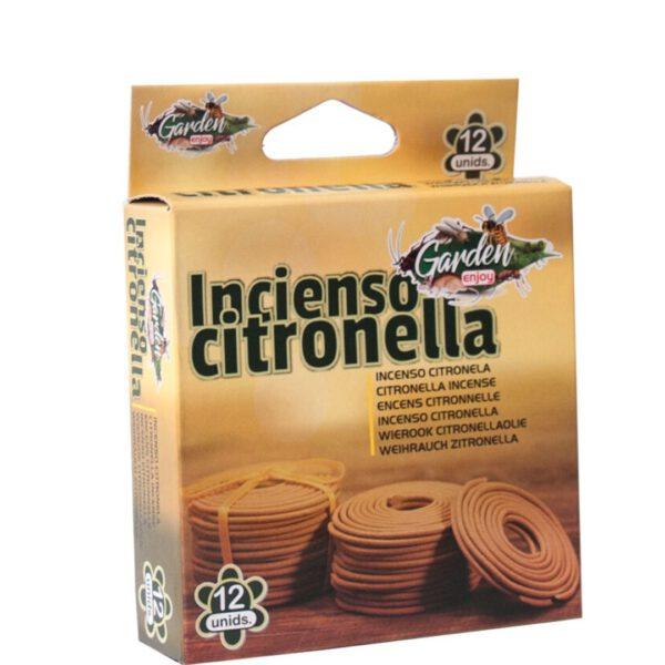 Orange85 Anti Insecten Citronella Wierook extra afb