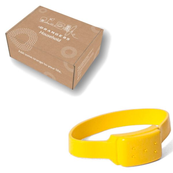 Orange85 Anti Muggen en Insecten Armband extra + doos