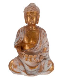 Orange85 Decoratie Buddha Koperkleur 23 cm