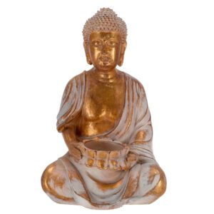 Orange85 Decoratie Buddha Koperkleur 23 cm
