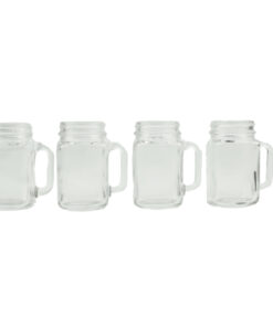 Orange85 Mason jar shotglaasjes 4 stuks