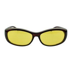 Orange85 Overzet nachtbril bruin