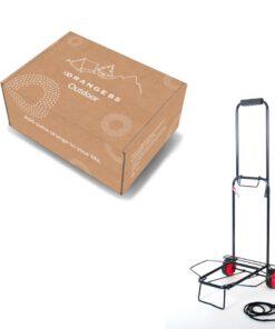 Orange85 Steekwagen Zwart Metaal + doos